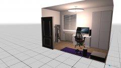 Raumgestaltung Kleines Zimmer in der Kategorie Büro