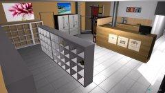 Raumgestaltung Laden 1 in der Kategorie Büro