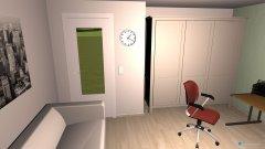 Raumgestaltung Lasses Zimmer in der Kategorie Büro