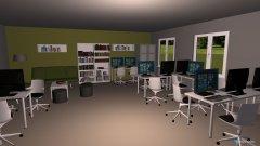 Raumgestaltung Lernbüro E MEDT in der Kategorie Büro