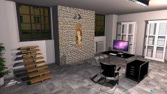 Raumgestaltung LOFT 2078 - Büro in der Kategorie Büro