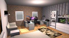 Raumgestaltung Nico Zimmer in der Kategorie Büro