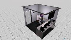 Raumgestaltung NL4_v2 in der Kategorie Büro