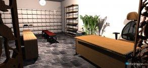 Raumgestaltung office01 in der Kategorie Büro