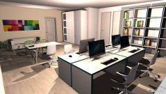 Raumgestaltung Office in der Kategorie Büro