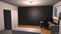 Raumgestaltung PC-Zimmer in der Kategorie Büro