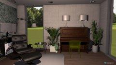 Raumgestaltung piano room in der Kategorie Büro