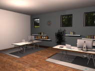 Raumgestaltung pr kskr 2 in der Kategorie Büro