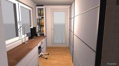 Raumgestaltung Schrankzimmer in der Kategorie Büro
