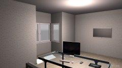 Raumgestaltung Simple Office in der Kategorie Büro