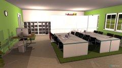 Raumgestaltung ÜLZ Entwurf 1 in der Kategorie Büro