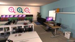 Raumgestaltung ÜLZ Entwurf 2 in der Kategorie Büro