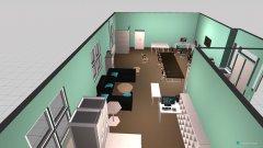 Raumgestaltung UMB Office Right Size 1 in der Kategorie Büro