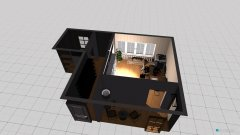 Raumgestaltung Untere Wohnzimmer Büro in der Kategorie Büro