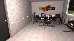 Raumgestaltung Vorstufenraum in der Kategorie Büro