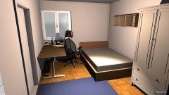 Raumgestaltung WG Zimmer in der Kategorie Büro