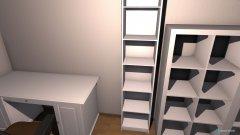 Raumgestaltung Wohnung 1 in der Kategorie Büro