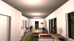 Raumgestaltung Wohnzimmer 2 in der Kategorie Büro