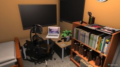 Raumgestaltung Youtuberstube in der Kategorie Büro
