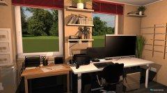 Raumgestaltung Zimmer I in der Kategorie Büro