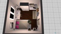 Raumgestaltung Zimmer ohne Balkon in der Kategorie Büro