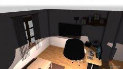 Raumgestaltung Zimmer2 in der Kategorie Büro