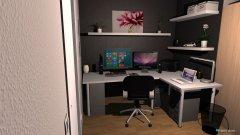 Raumgestaltung Zockerzimmer in der Kategorie Büro