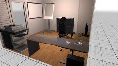 Raumgestaltung ZWEITE VARIANTE in der Kategorie Büro