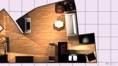 Raumgestaltung EG Schwepp Küche mit Herd in Raum in der Kategorie Empfang