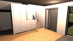 Raumgestaltung Eingangsbereich - PAX Schränke -2 in der Kategorie Empfang