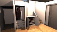 Raumgestaltung Eingangsbereich - PAX Schränke -3 in der Kategorie Empfang