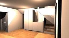 Raumgestaltung Eingangsbereich - PAX Schränke -4 in der Kategorie Empfang