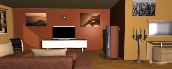 Raumgestaltung Einraumwohnung in der Kategorie Empfang