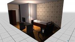 Raumgestaltung einzelzimmer in der Kategorie Empfang
