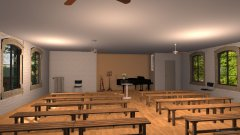 Raumgestaltung First Church in der Kategorie Empfang