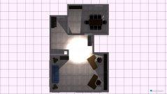 Raumgestaltung Grundriss Filiale 3. Variante ohne Küche in der Kategorie Empfang