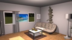 Raumgestaltung Grundrissvorlage Quadrat in der Kategorie Empfang