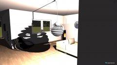 Raumgestaltung küche wohnzimmer empfang alles in einen in der Kategorie Empfang