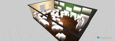 Raumgestaltung Pausenraum in der Kategorie Empfang