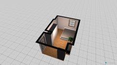 Raumgestaltung Schlafzimmer 2 in der Kategorie Empfang
