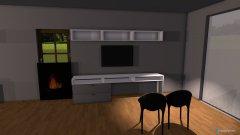Raumgestaltung 2 project in der Kategorie Esszimmer