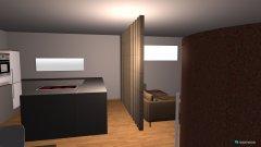 Raumgestaltung Anbau offen in der Kategorie Esszimmer