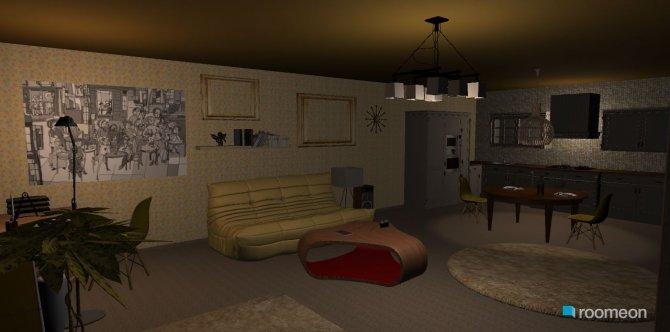 Raumgestaltung AUrora apartment in der Kategorie Esszimmer