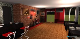 Raumgestaltung Bike Cafe in der Kategorie Esszimmer