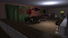 Raumgestaltung cafeteria in der Kategorie Esszimmer