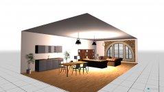 Raumgestaltung Cafta küche in der Kategorie Esszimmer