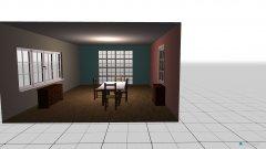 Raumgestaltung camera da pranzo in der Kategorie Esszimmer