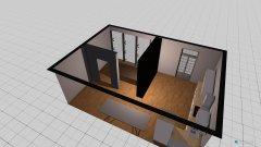 Raumgestaltung Cavour office and kitchen in der Kategorie Esszimmer