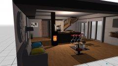 Raumgestaltung Dachboden in der Kategorie Esszimmer