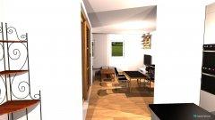 Raumgestaltung Dachgeschoss in der Kategorie Esszimmer